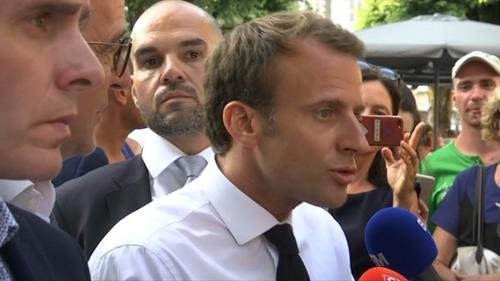 L'offensive médiatique et mensongère du couple Benalla-Macron