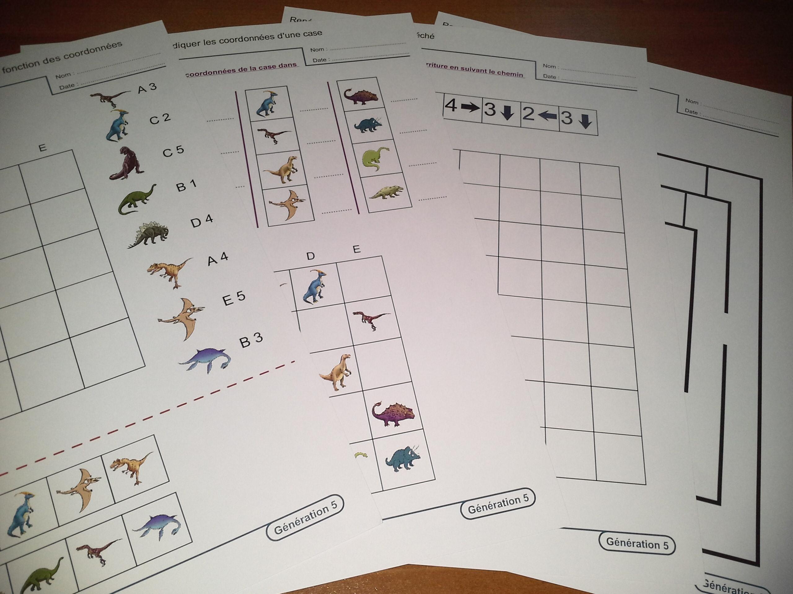 Les Dinosaures Activités Pour Le Cycle 2 Génération 5 Le Petit