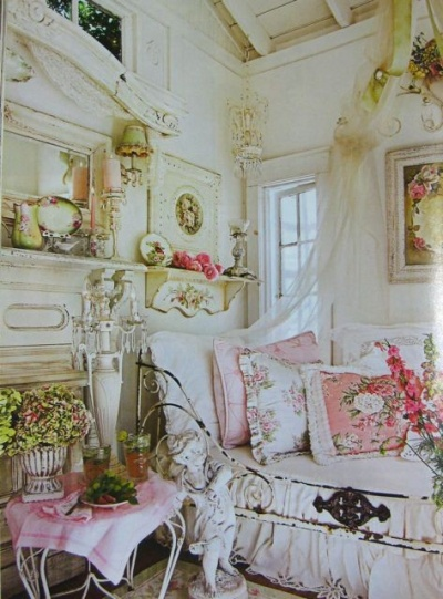 style d co le style shabby chic d co en nuances. Black Bedroom Furniture Sets. Home Design Ideas