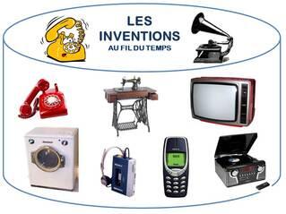 Les inventions au fil du temps