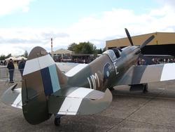 Spitfire MK XIX mis en service en 1944...moins de 5 exemplaires restants...