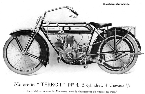 La Motocyclette en France 1914-1921 - Réédition