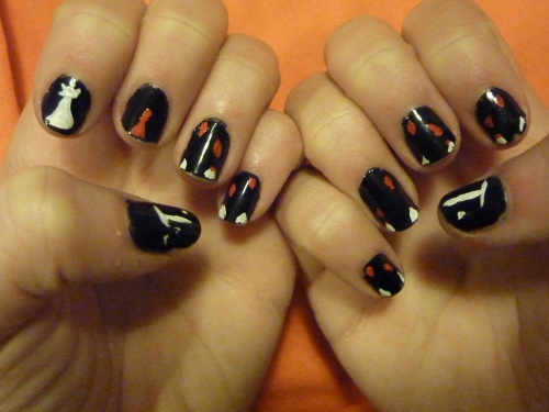 Nail art twilight