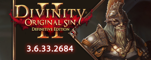 PATCH : Divinity : Original Sin 2 en 3.6.33.2684*