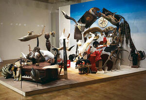 Bernard Pras- installations anamorphiques