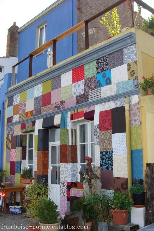 Maison patchwork à Paimboeuf
