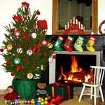 Marché et spectacle de Noël le 16 décembre 2014 - Maternelle de Bures
