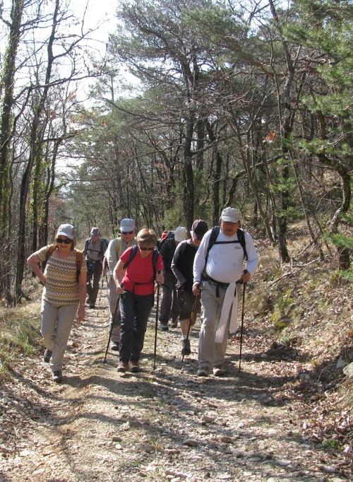 29 Mars 2012: la montagne de Lozeron