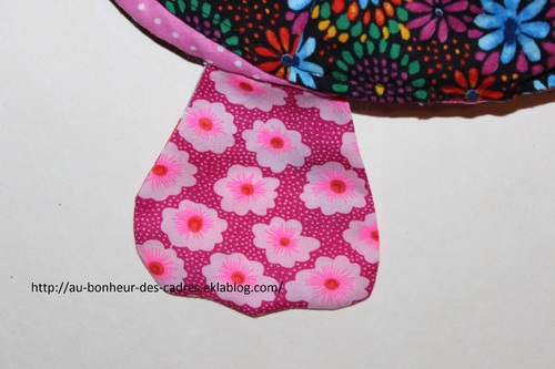 Couture : range pyjama chouette recto-verso