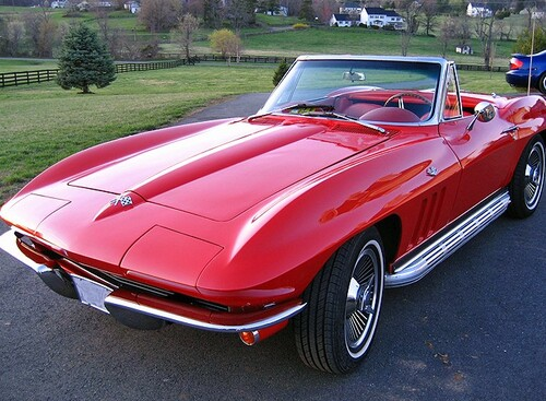 Chevrolet Corvette Sting Ray R 1965