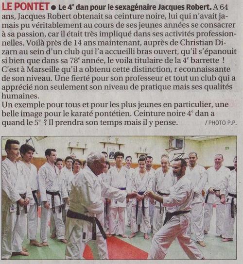 La Provence 15/11/2014