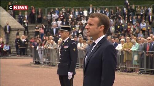* Cérémonie de commémoration du 78e anniversaire de l'appel du 18 juin 1940 et remise de décoration au Mont Valérien
