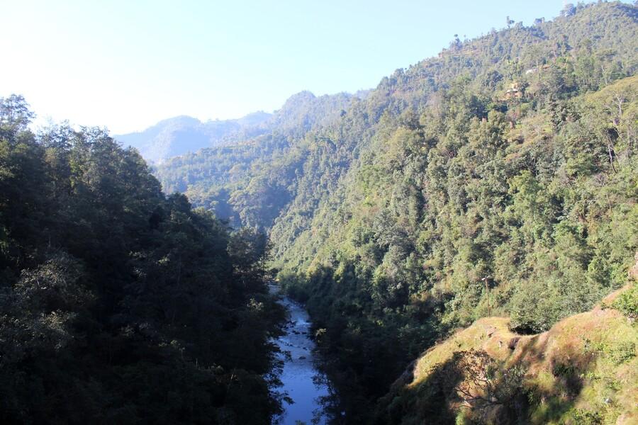 Balade dans la campagne népalaise