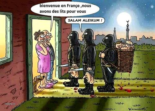 etat islamique france immigration