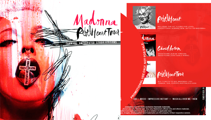 Rebel Heart Tour - Fanmade Anticipated Studio Versions