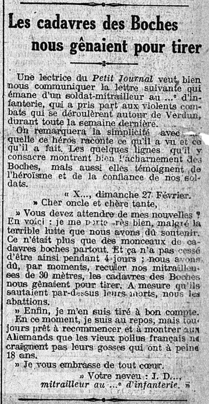 4 mars 1916