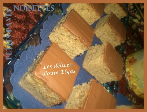 Petits pavés moelleux aux noisetes (2)