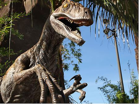 Los Angeles Studio Universal attraction Jurassic Park 3