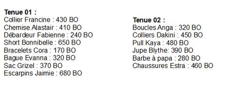 """Nouveautés Classiques """"Chez Nine"""""""