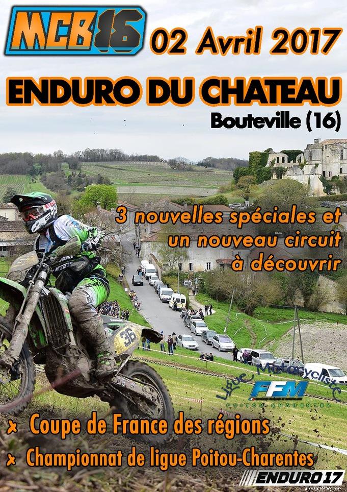 Enduro de Bouteville 2017