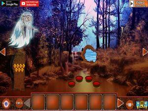 Jouer à Witch broom stick forest escape