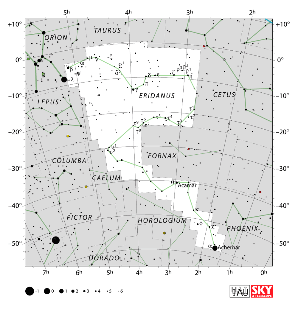 eridani constellation