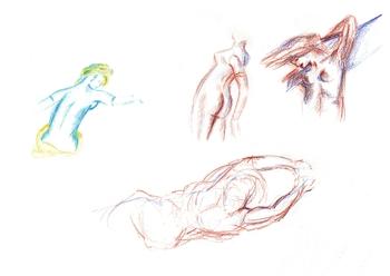 Repro Peinture détail crayons cls -2007-