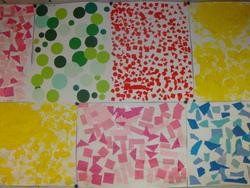créer le musée des couleurs  en PS