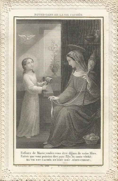 Prière à Notre-Dame de la vie cachée