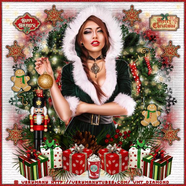 """Tutoriel """"Happy-holidays"""" de Liligraph"""