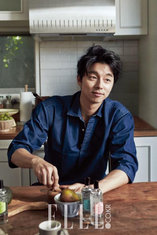 Gong Yoo pour Elle
