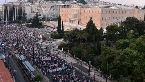 8 000 manifestants à Athènes à l'appel du front syndical PAME