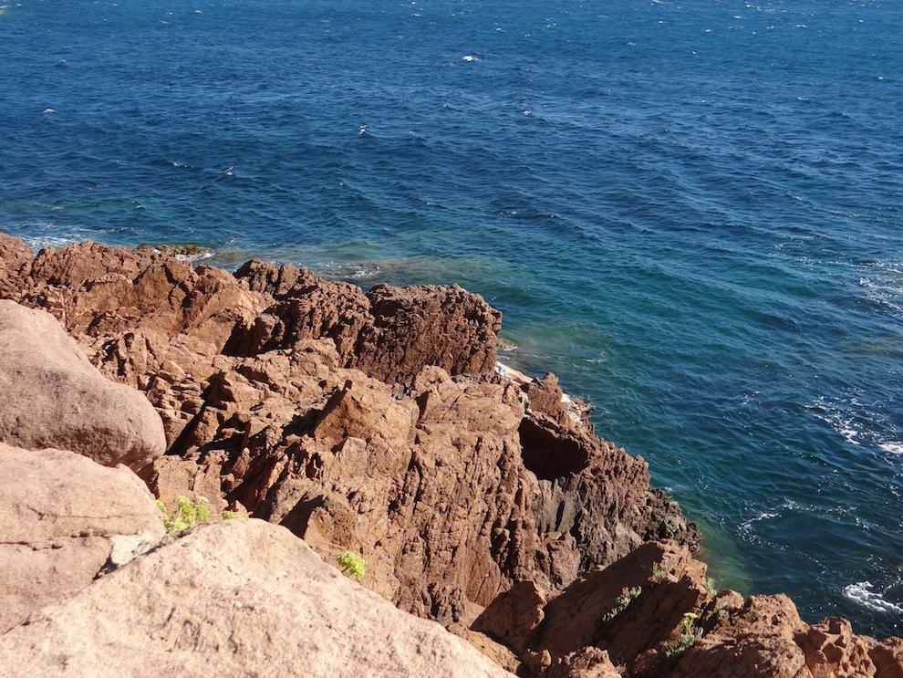 La côte de l'Esterel