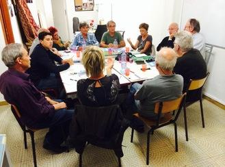 Comités de soutien Corses à JLMelenchon, première reunion de travail a Ajaccio