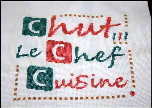 chut ! le chef cuisine