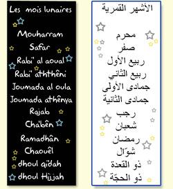 Connaissez-vous le calendrier musulman?