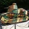 Un char de la 1ère guerre mondiale dans la clairière de Rethondes