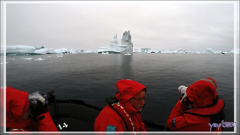 Le cimetière d'icebergs de Savissivik - Qaasuitsup - Baie de Melville - Groenland