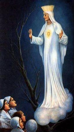 Beauraing : La Vierge au cœur d'or
