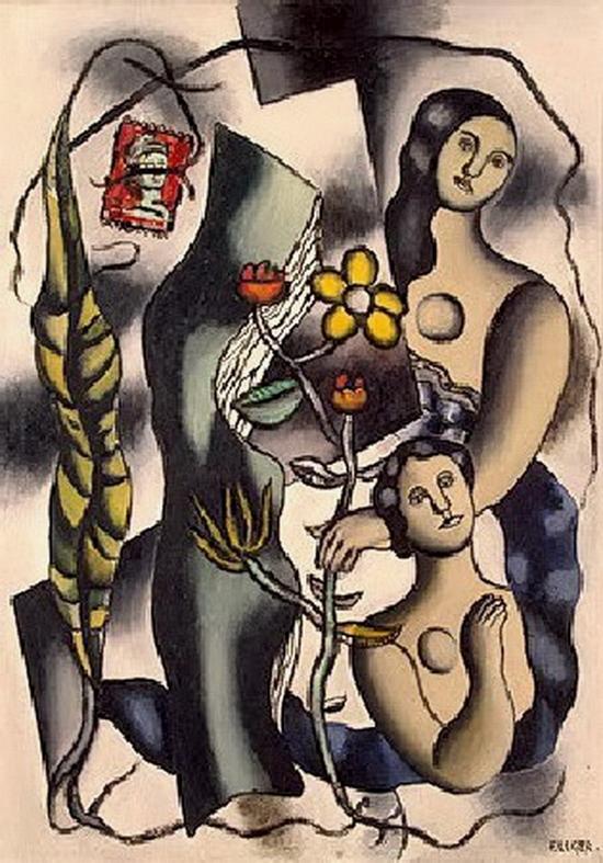 Fernand Léger,  Carte Postale, 1932-1948