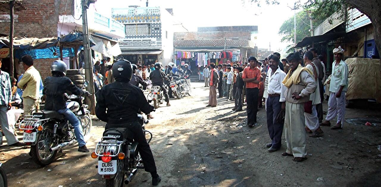 Rajasthan 1 / Sur les montures métalliques !
