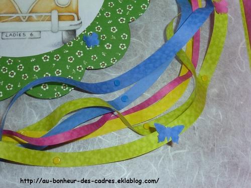 Passion Cadres 16 : technique Farandole de rubans