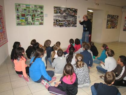 Visite de l'expo de M. Hermann