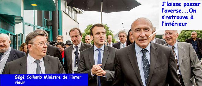 ministres macronisés