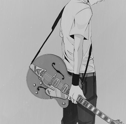 Image de anime, guitar, and manga