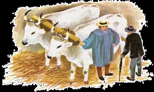 La vente des boeufs (E. Pérochon)