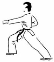 Karaté Gyaku-tsuki