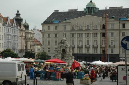 Brno marché aux choux