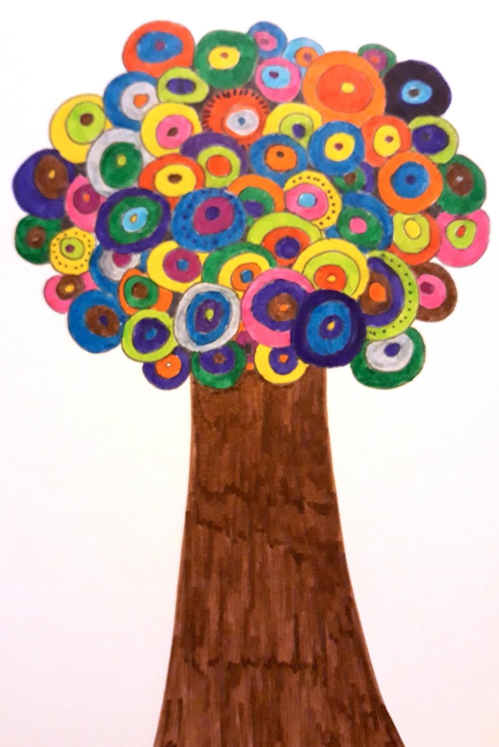 Projet artistique : arbre