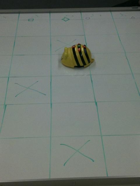 Bee-bot tableau barrage